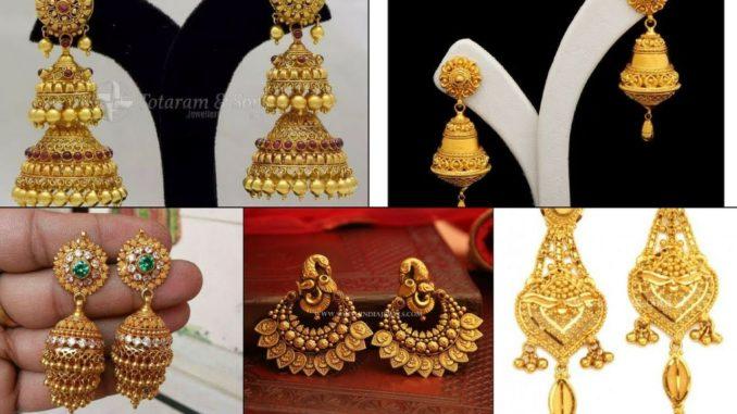e6ca6454b1ad8 Jhumka Earrings Gold Jewelry