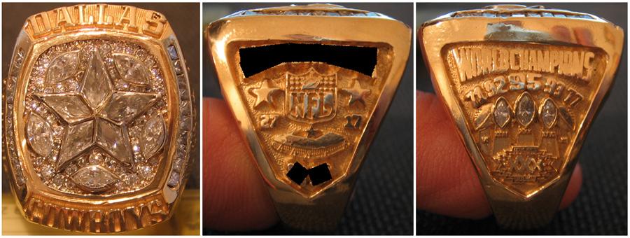 Dallas Cowboys 1995 ring