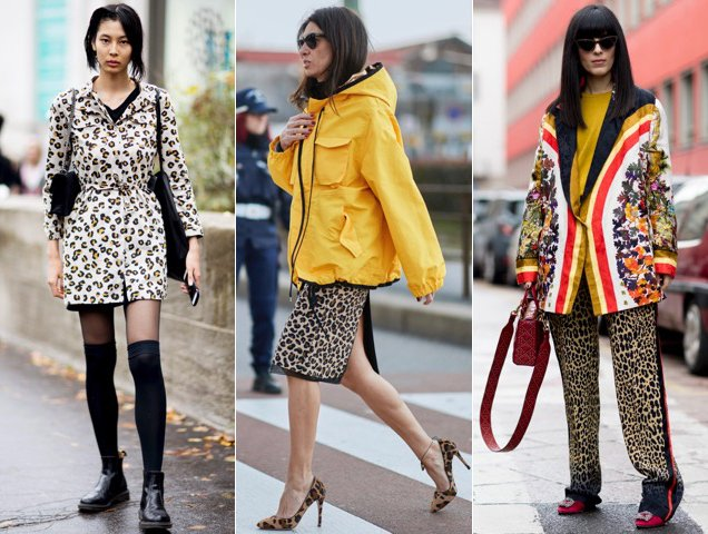 Animal prints done the street style way.