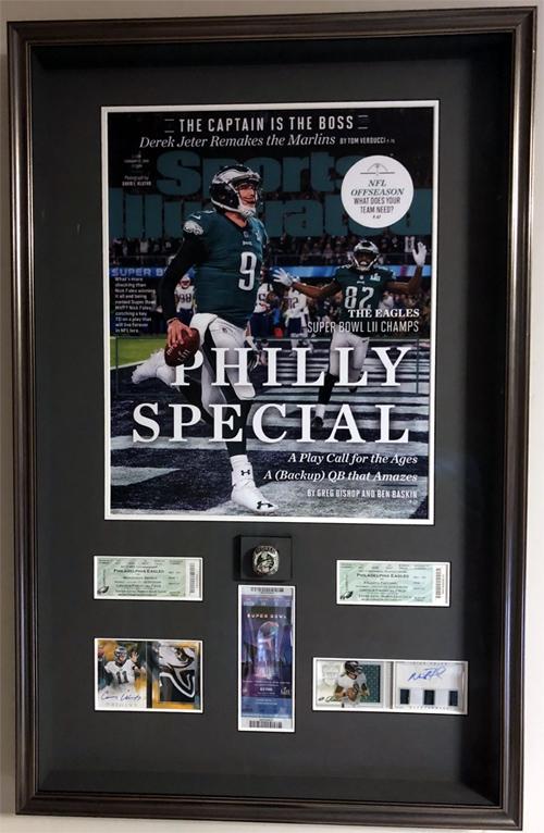Eagles Super Bowl Ring Display