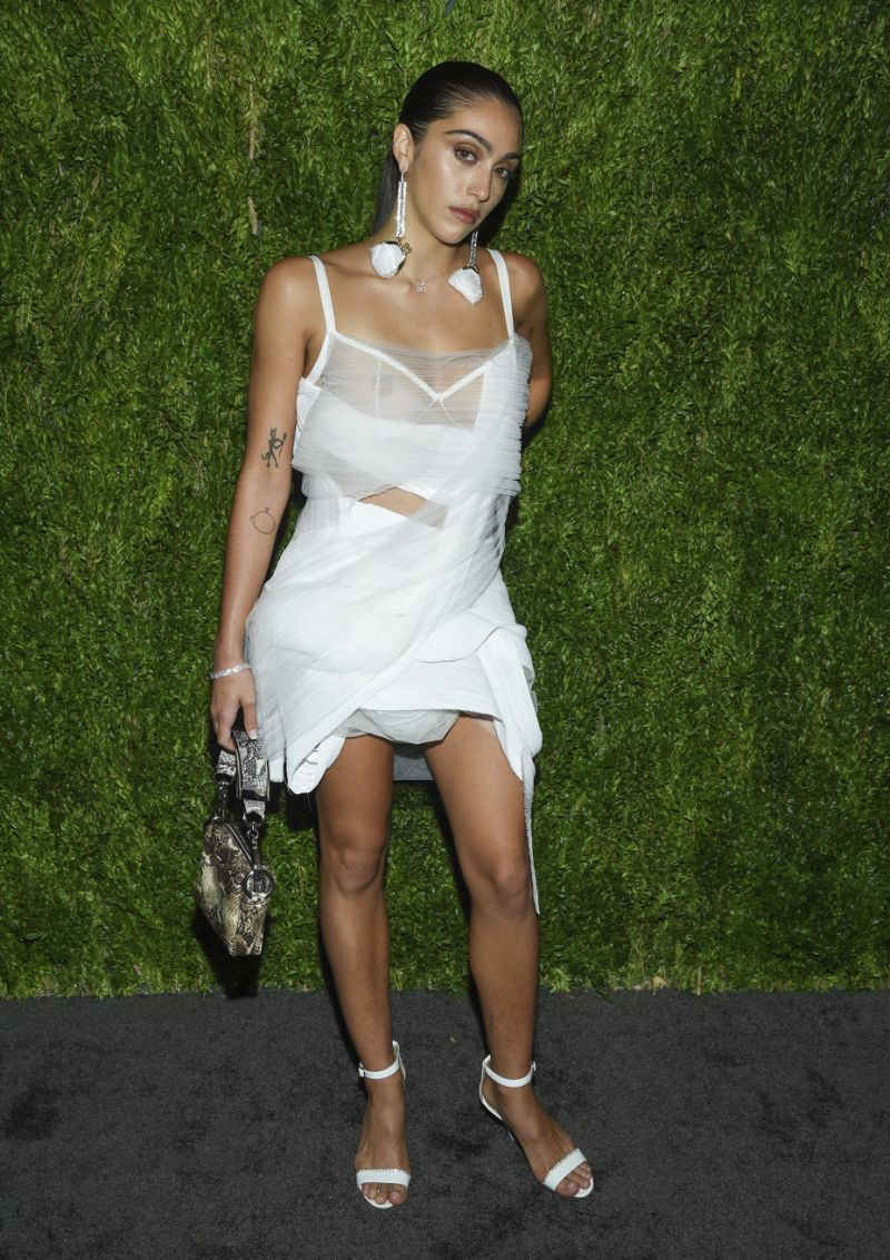 Lourdes Leon at the CFDA/Vogue Fashion Fund gala on Monday night.
