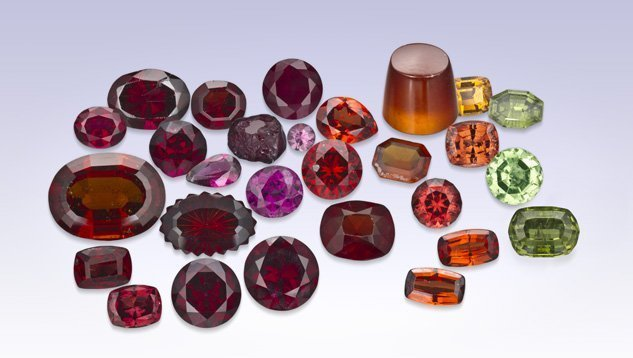 garnet crystal facts