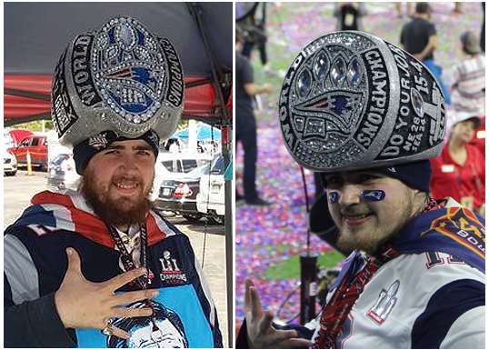 Championship ring hat maker rion