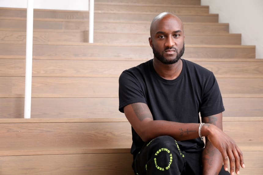 Virgil Abloh. Photo: Katrina Wittkamp/Courtesy of the Museum of Contemporary Art