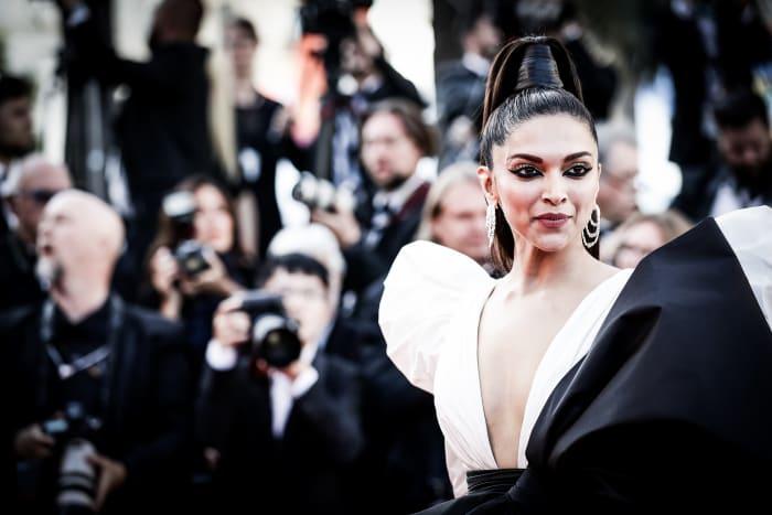 Deepika Padukone at the 2019 Cannes Film Festival. Photo: Vittorio Zunino Celotto/Getty Images