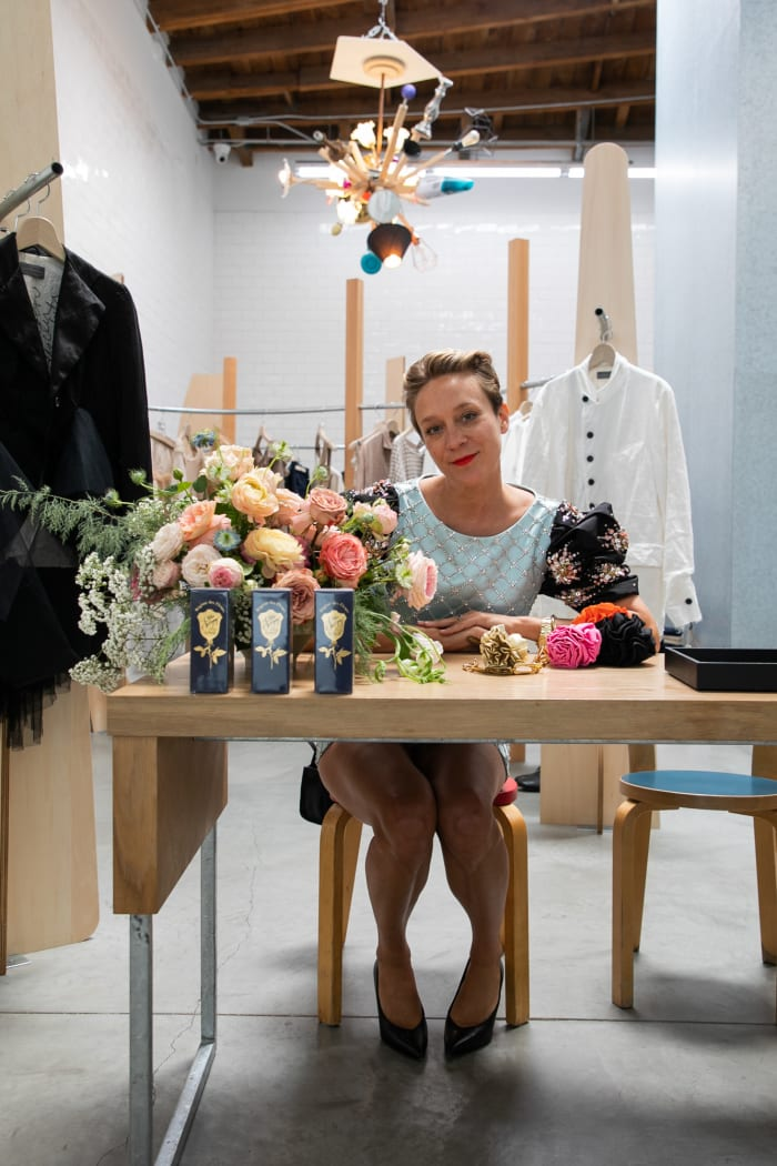 Chloë Sevigny at Dover Street Market L.A. Photo: Courtesy of Dover Street Market