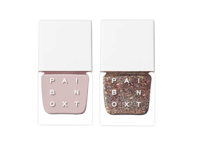 "<h3>Like Mystery + Like Magic Power Couple</h3> <p>The newest Paintbox pairing was born out of the salon demand for a mani that combined neutrals with glitter accents. ""This modern pairing was inspired by our creative, stylish clients at our 17 Crosby Street studio,"" Langston explains. ""We noticed how they were often pairing soft nude shades with reflective glitters for a low-key, downtown update on luminosity. The glitter tone turns your nails into an instant accessory.""</p> <br> <br> <strong>Paintbox</strong> Power Couple Like Mystery + Like Magic, $40, available at <a href=""https://paint-box.com/products/nail-lacquer-like-mystery-like-magic-power-couples"" rel=""nofollow noopener"" target=""_blank"" data-ylk=""slk:Paintbox"" class=""link rapid-noclick-resp"">Paintbox</a>"
