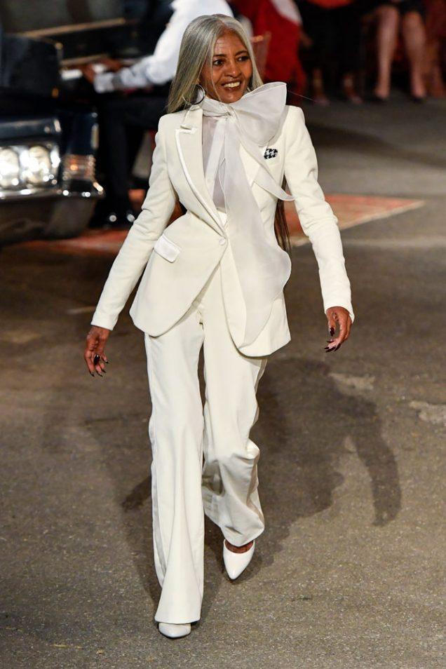 Jo Ani Johnson Victor on the Tommy x Zendaya Fall 2019 runway.