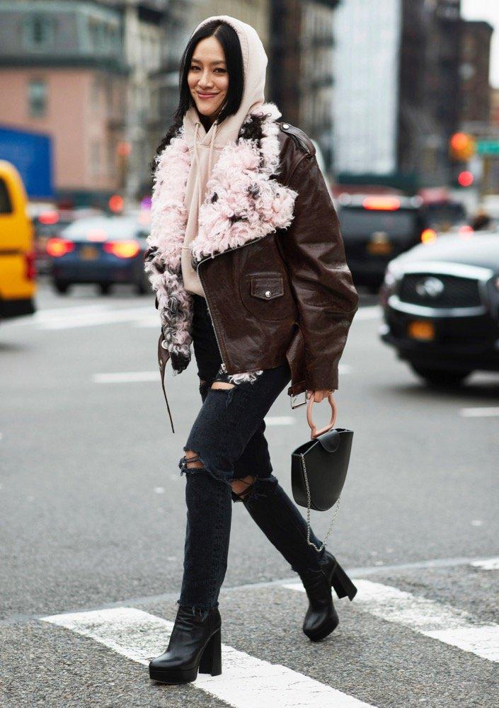 Hoodies are street style winners.