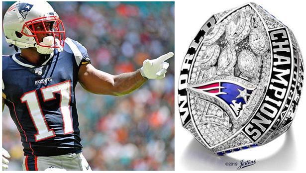 Antonio Brown Super Bowl ring