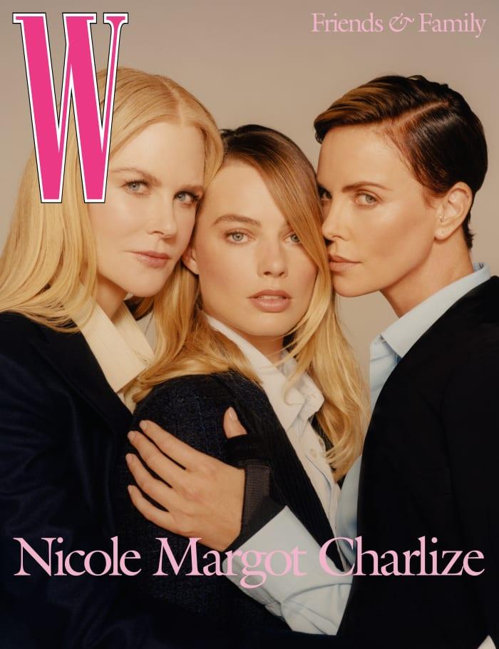 Nicole Kidman, Margot Robbie and Charlize Theron for 'W Magazine'. Photo:Colin Dodgson for 'W Magazine'