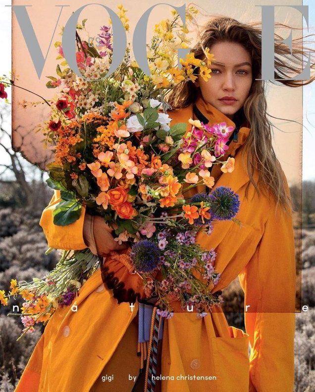 Vogue Czechoslovakia May 2019 : Gigi Hadid by Helena Christensen