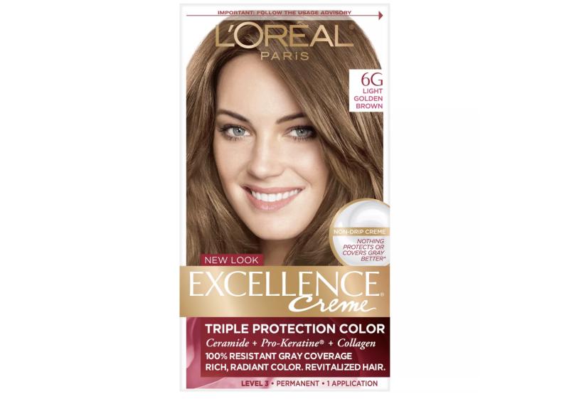 L'Oreal Paris Excellence Triple Protection Permanent Hair Color (Credit: Target)