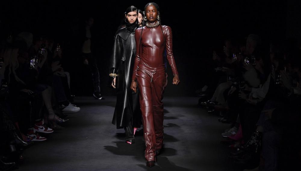 Models at Mugler Fall 2020