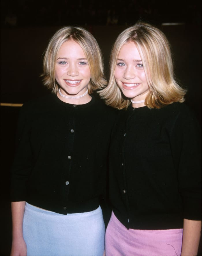 Mary-Kate and Ashley Olsen in 1999.