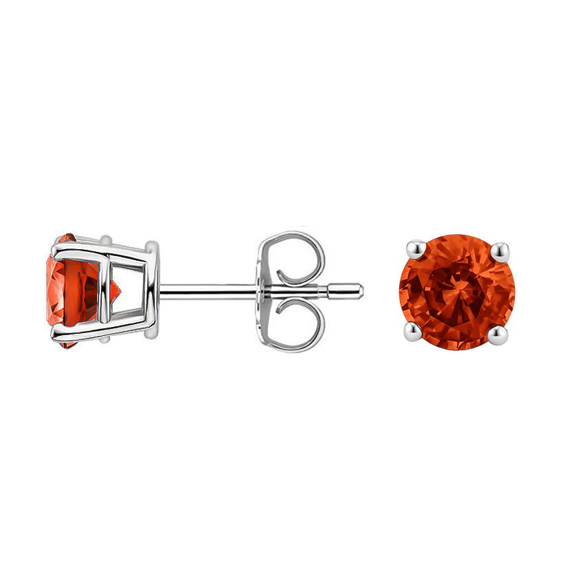 Fire-Citrine-Stud-Earrings