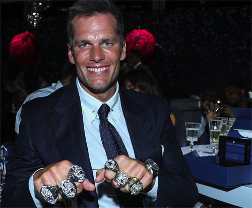 Patriot Super Bowl LIII rings