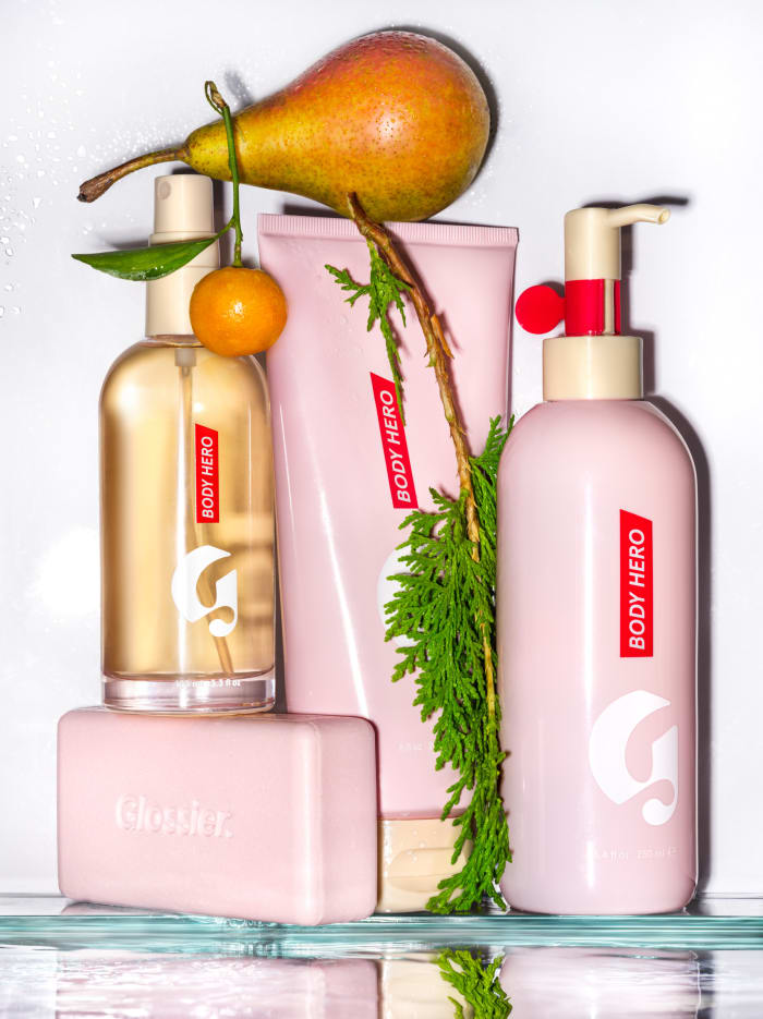 Glossier's The Complete Body Hero Collection, $70, available at Glossier.com.
