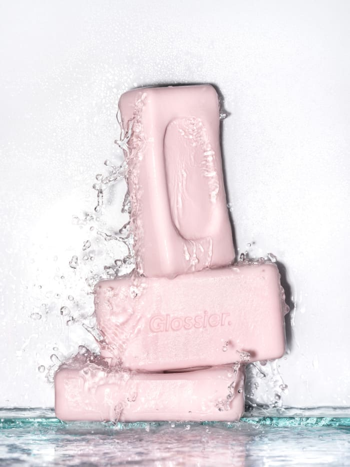 Glossier Body Hero Exfoliating Bar, $14, available at Glossier.com.