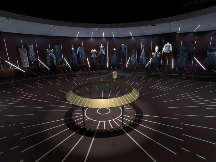"Inside the first ""clock"" room in ""About Time."""