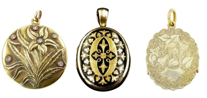 An exquisite selection of antique lockets from sellers on Ruby Lane. 3