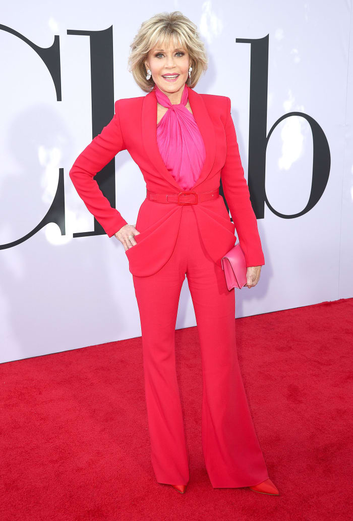 Jane Fonda 2018 Book Club Premiere Brandon Maxwell