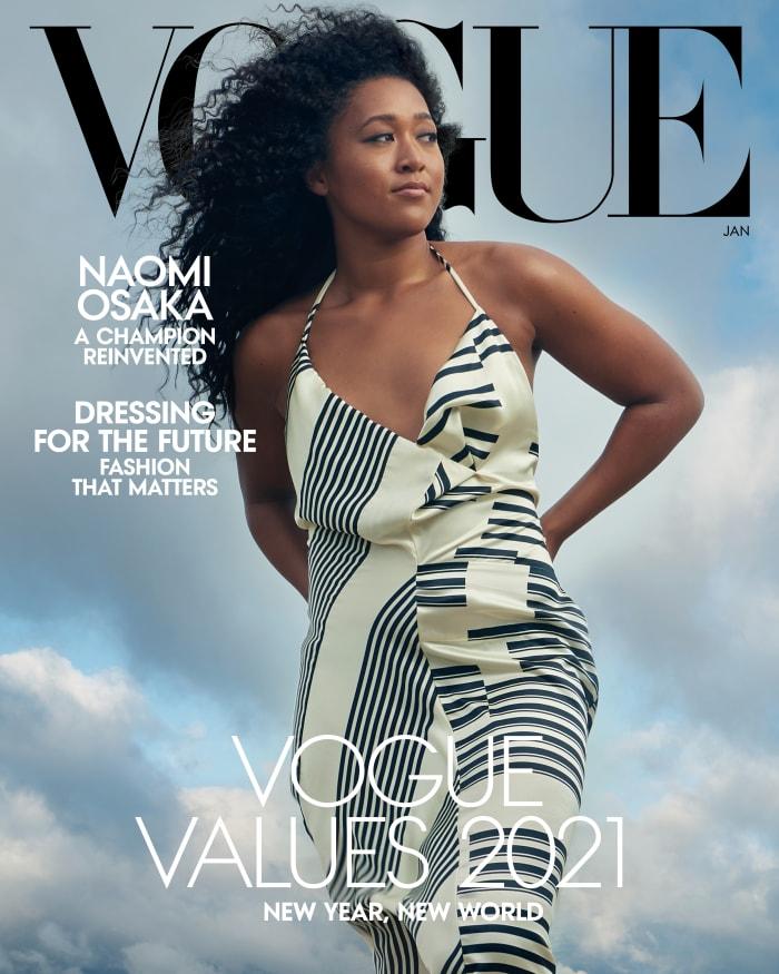 Naomi Osaka for Vogue.