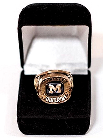 Bo Schembechler championship ring auctioned
