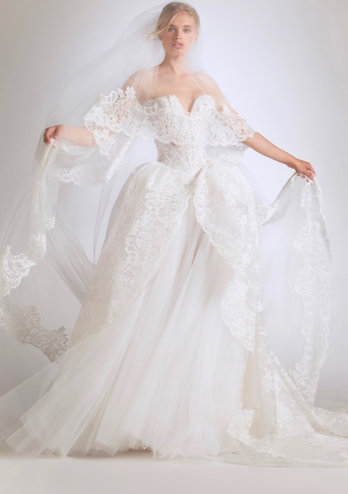Vivienne Westwood Couture Bridal Fall 2021