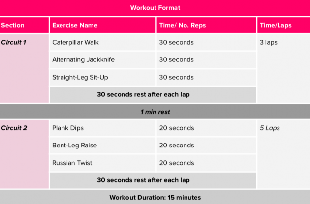 Low impact workouts for beginners: a workout from Kayla Itsines' SWEAT app